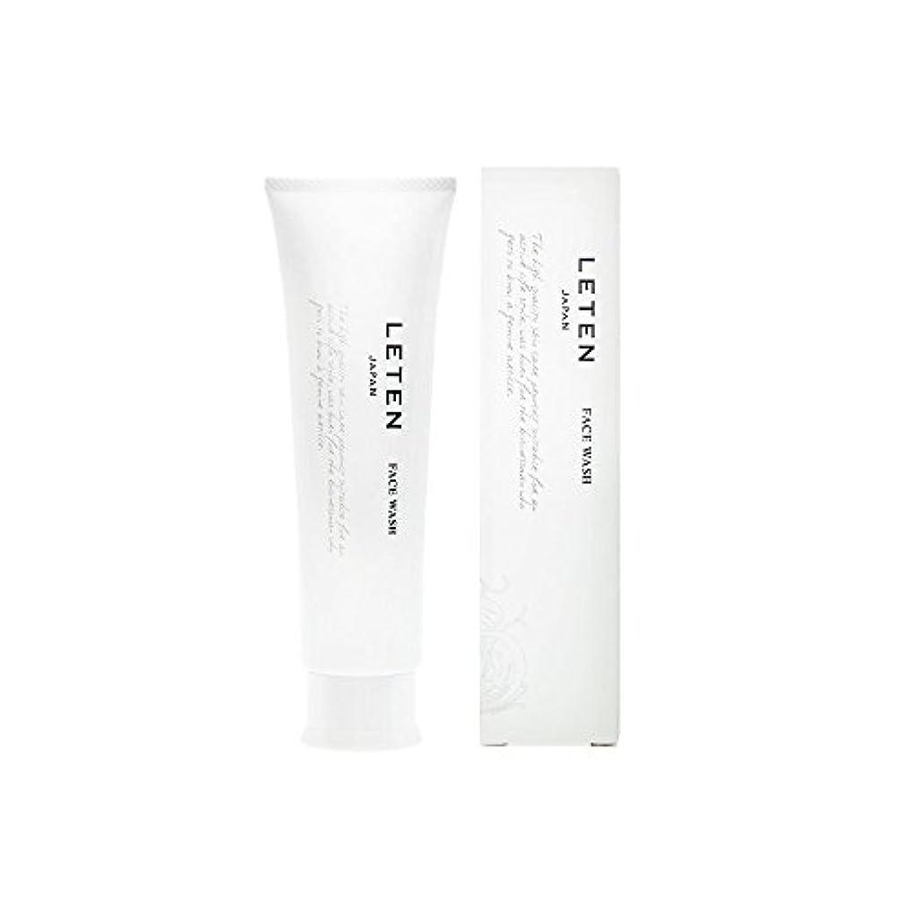 サービス財政錆びレテン (LETEN) フェイスウォッシュ 100g 洗顔フォーム 洗顔料 敏感肌