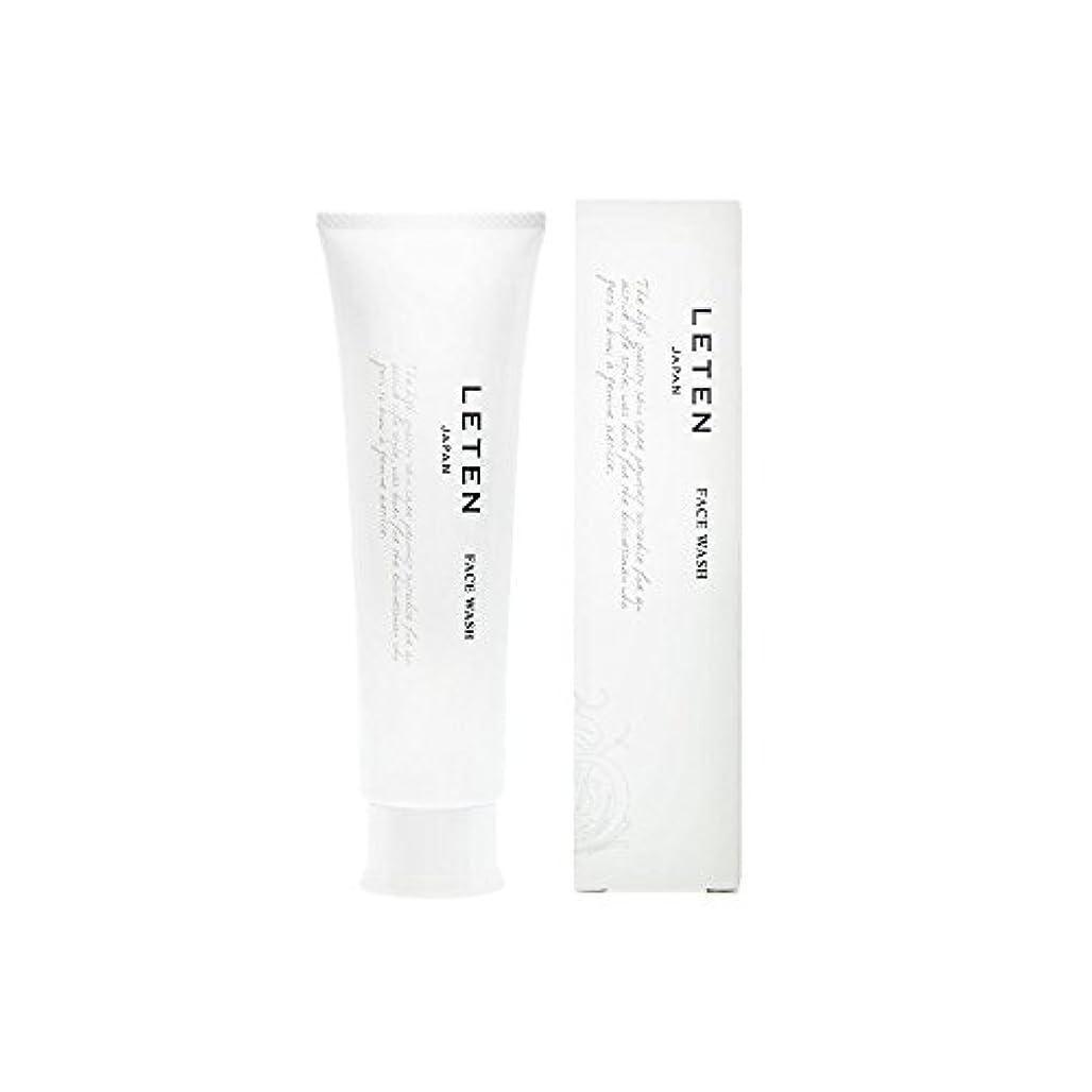 くびれたバーマド日常的にレテン (LETEN) フェイスウォッシュ 100g 洗顔フォーム 洗顔料 敏感肌