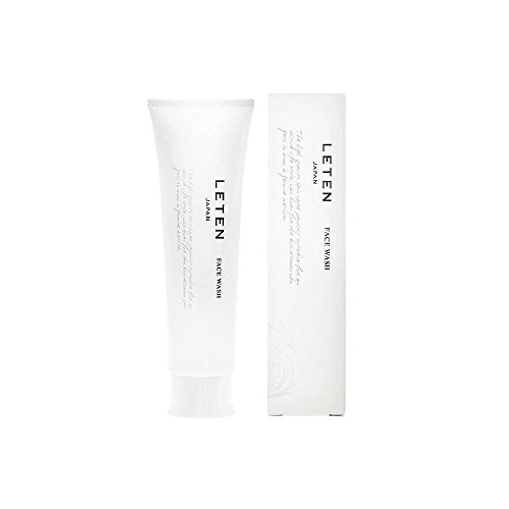 仕事に行くボリューム予防接種レテン (LETEN) フェイスウォッシュ 100g 洗顔フォーム 洗顔料 敏感肌