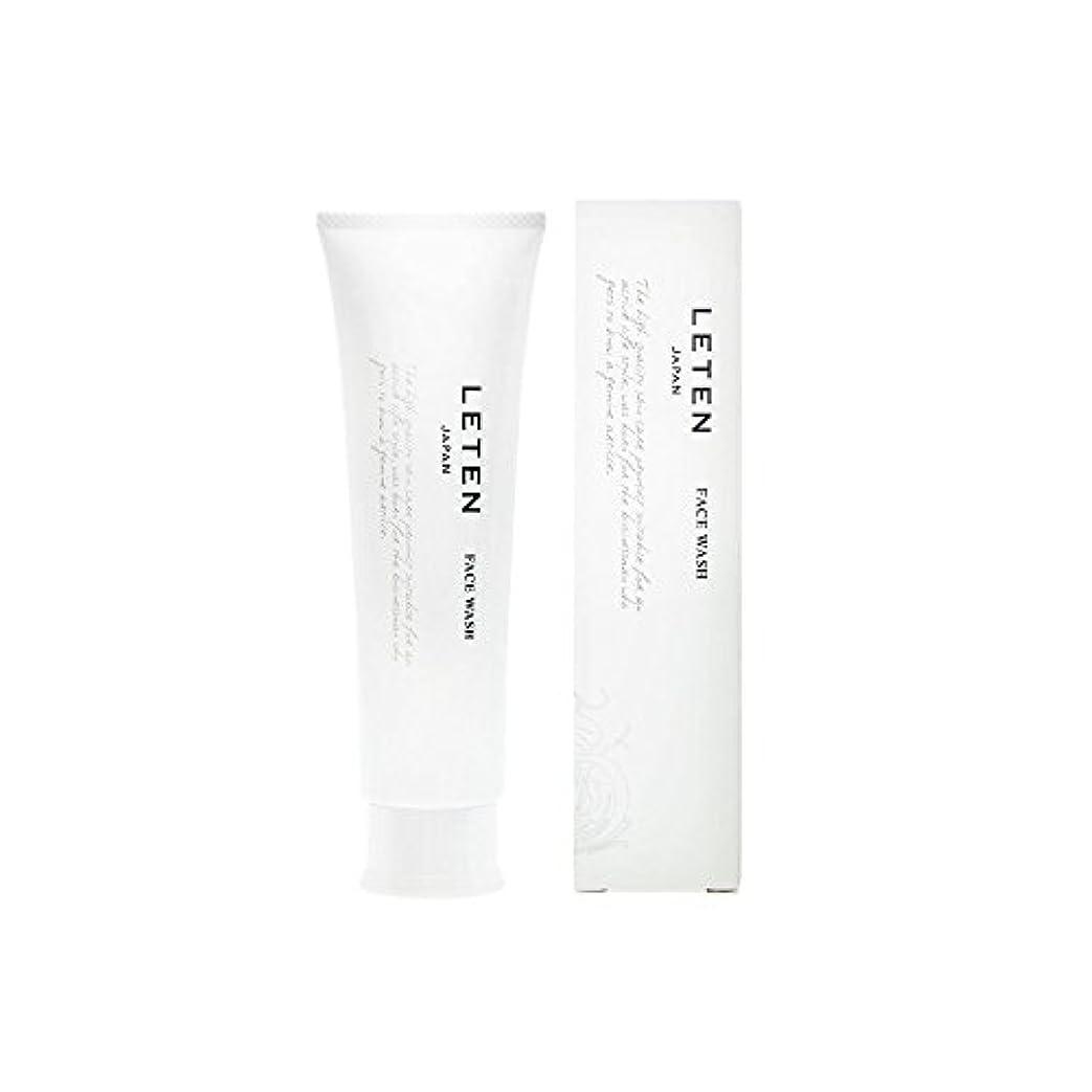 チラチラするスマートインカ帝国レテン (LETEN) フェイスウォッシュ 100g 洗顔フォーム 洗顔料 敏感肌