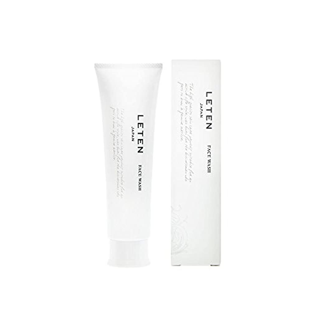 手配する組み立てる上陸レテン (LETEN) フェイスウォッシュ 100g 洗顔フォーム 洗顔料 敏感肌