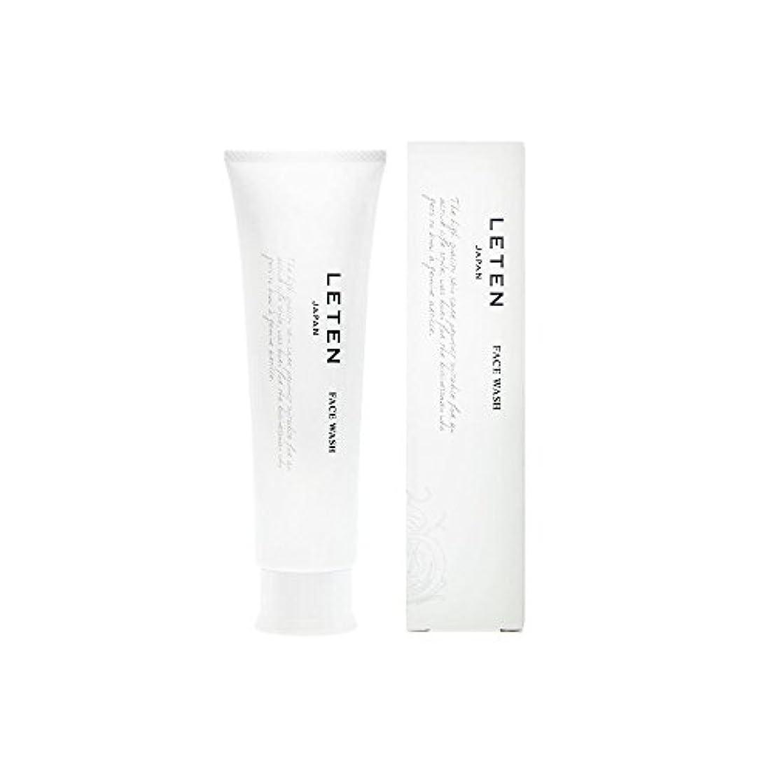 答えダーツ威するレテン (LETEN) フェイスウォッシュ 100g 洗顔フォーム 洗顔料 敏感肌