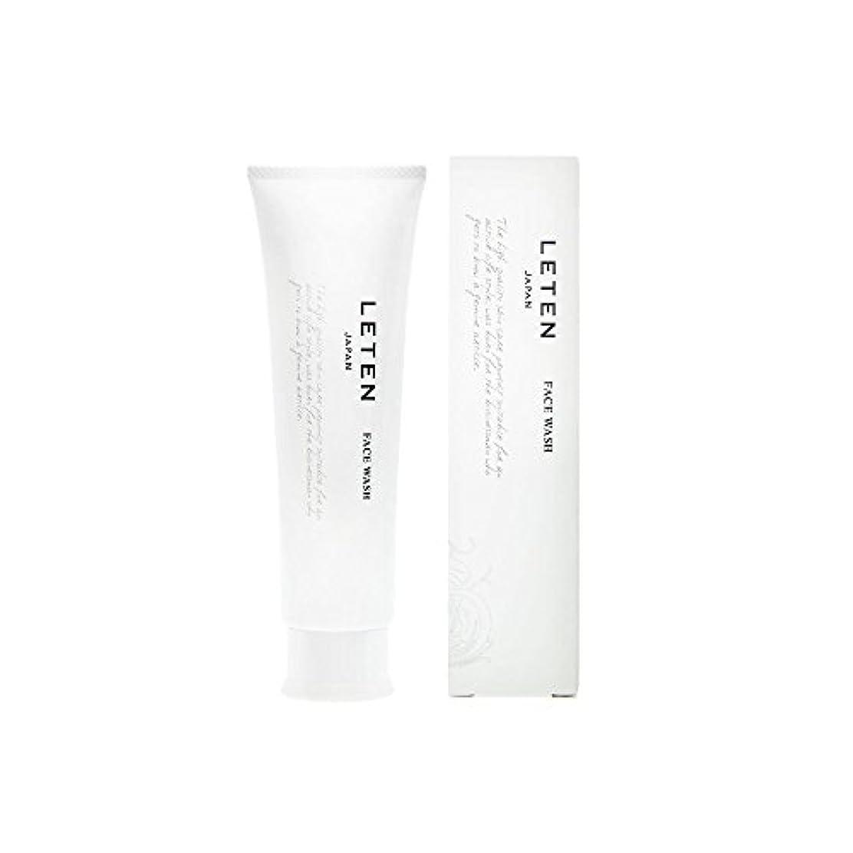 アラバマカナダライナーレテン (LETEN) フェイスウォッシュ 100g 洗顔フォーム 洗顔料 敏感肌