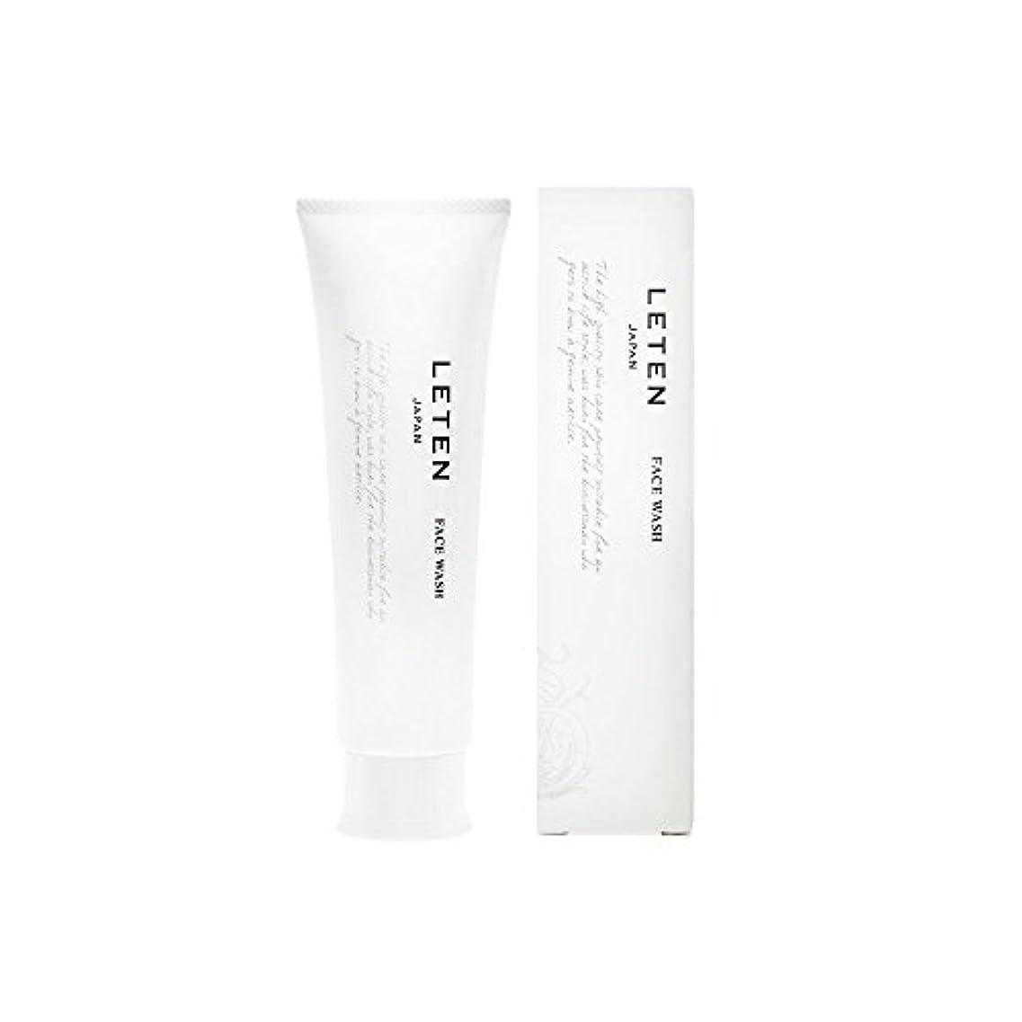 英語の授業があります保存ブラウズレテン (LETEN) フェイスウォッシュ 100g 洗顔フォーム 洗顔料 敏感肌