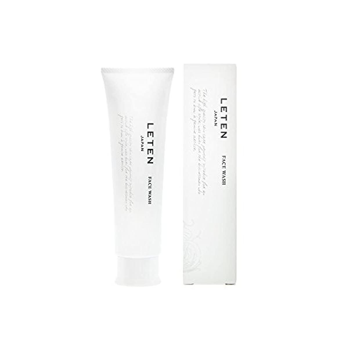 残高吸収剤靴下レテン (LETEN) フェイスウォッシュ 100g 洗顔フォーム 洗顔料 敏感肌