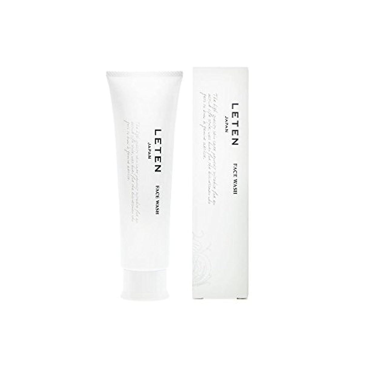ガラガラ天入札レテン (LETEN) フェイスウォッシュ 100g 洗顔フォーム 洗顔料 敏感肌