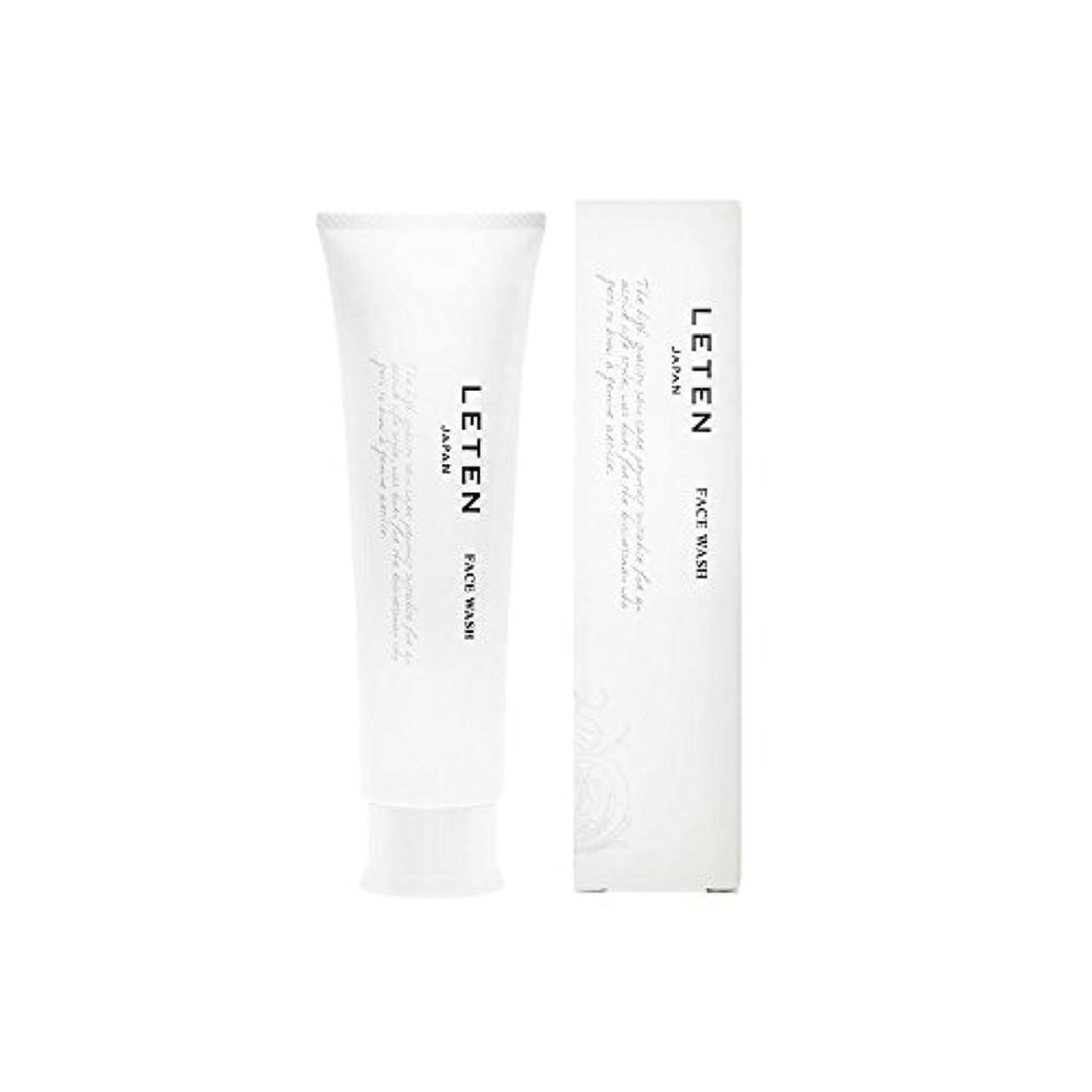 アラームセグメント抵抗するレテン (LETEN) フェイスウォッシュ 100g 洗顔フォーム 洗顔料 敏感肌