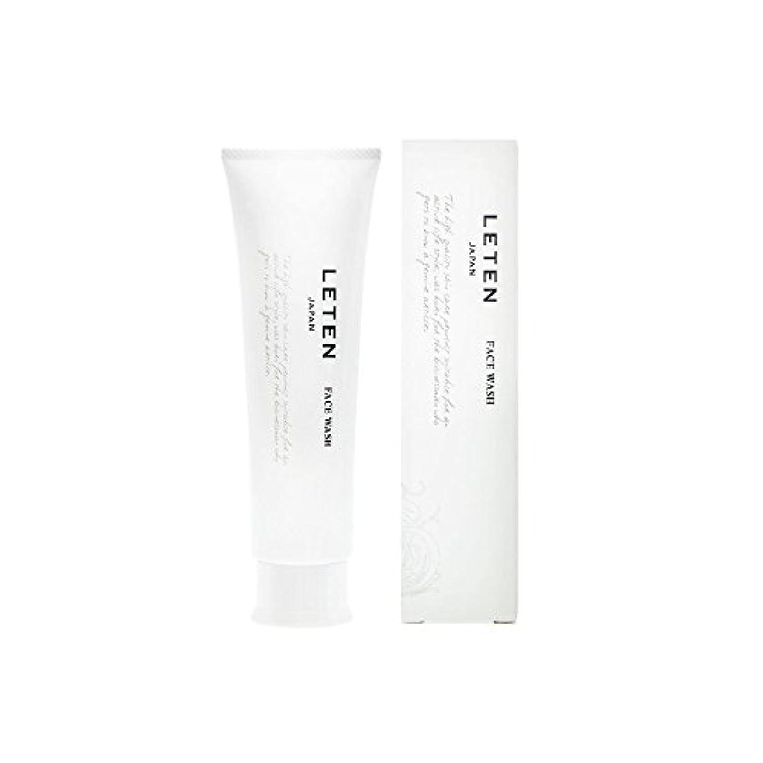 是正するボウリング教室レテン (LETEN) フェイスウォッシュ 100g 洗顔フォーム 洗顔料 敏感肌