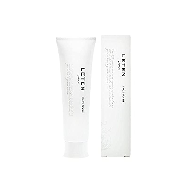 クローゼットねばねば出力レテン (LETEN) フェイスウォッシュ 100g 洗顔フォーム 洗顔料 敏感肌