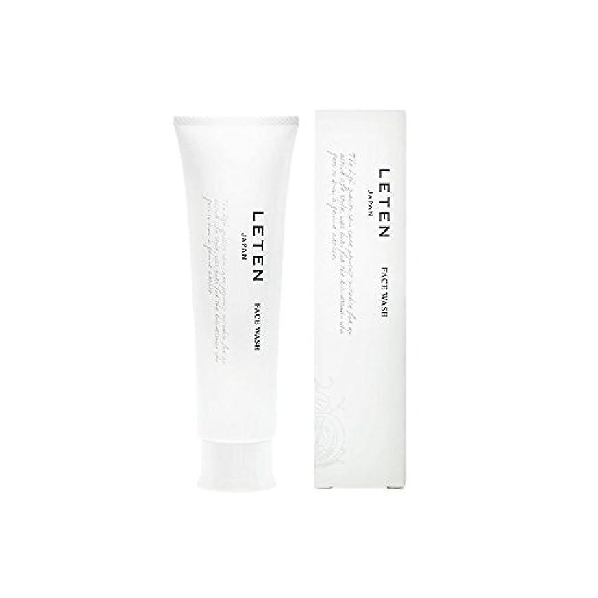 不適シャトルテープレテン (LETEN) フェイスウォッシュ 100g 洗顔フォーム 洗顔料 敏感肌