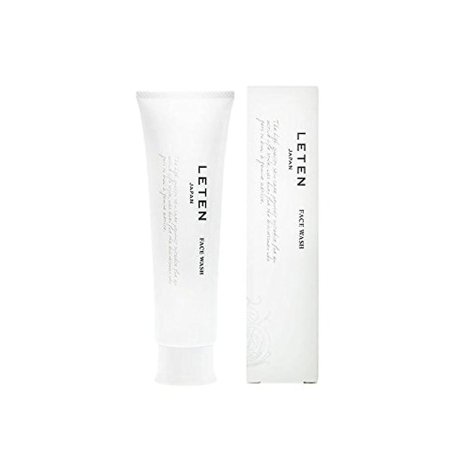 海岸思想知恵レテン (LETEN) フェイスウォッシュ 100g 洗顔フォーム 洗顔料 敏感肌