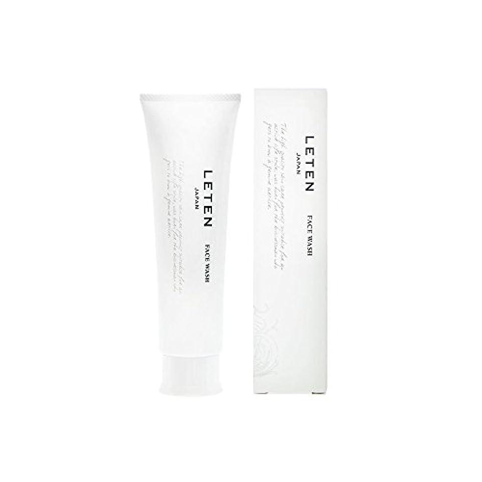 時代遅れ塗抹ことわざレテン (LETEN) フェイスウォッシュ 100g 洗顔フォーム 洗顔料 敏感肌