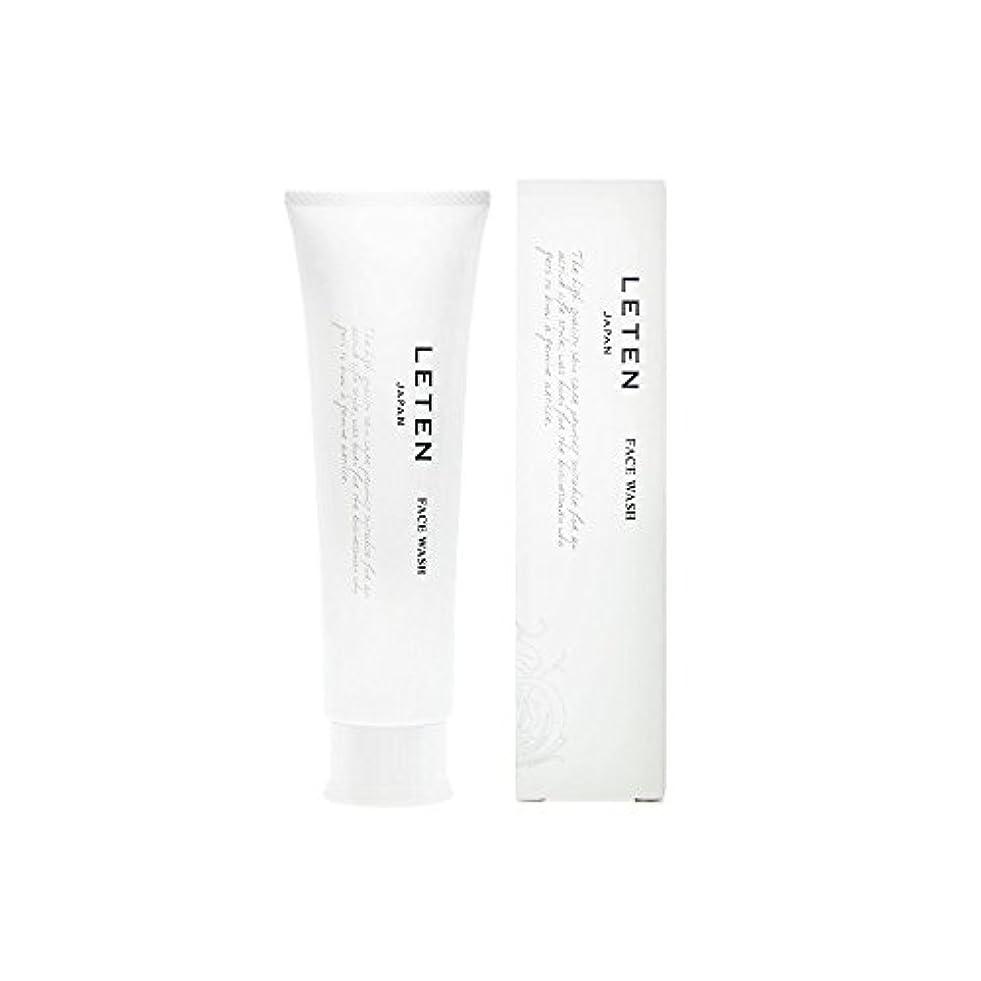 アンティークスクワイアステップレテン (LETEN) フェイスウォッシュ 100g 洗顔フォーム 洗顔料 敏感肌