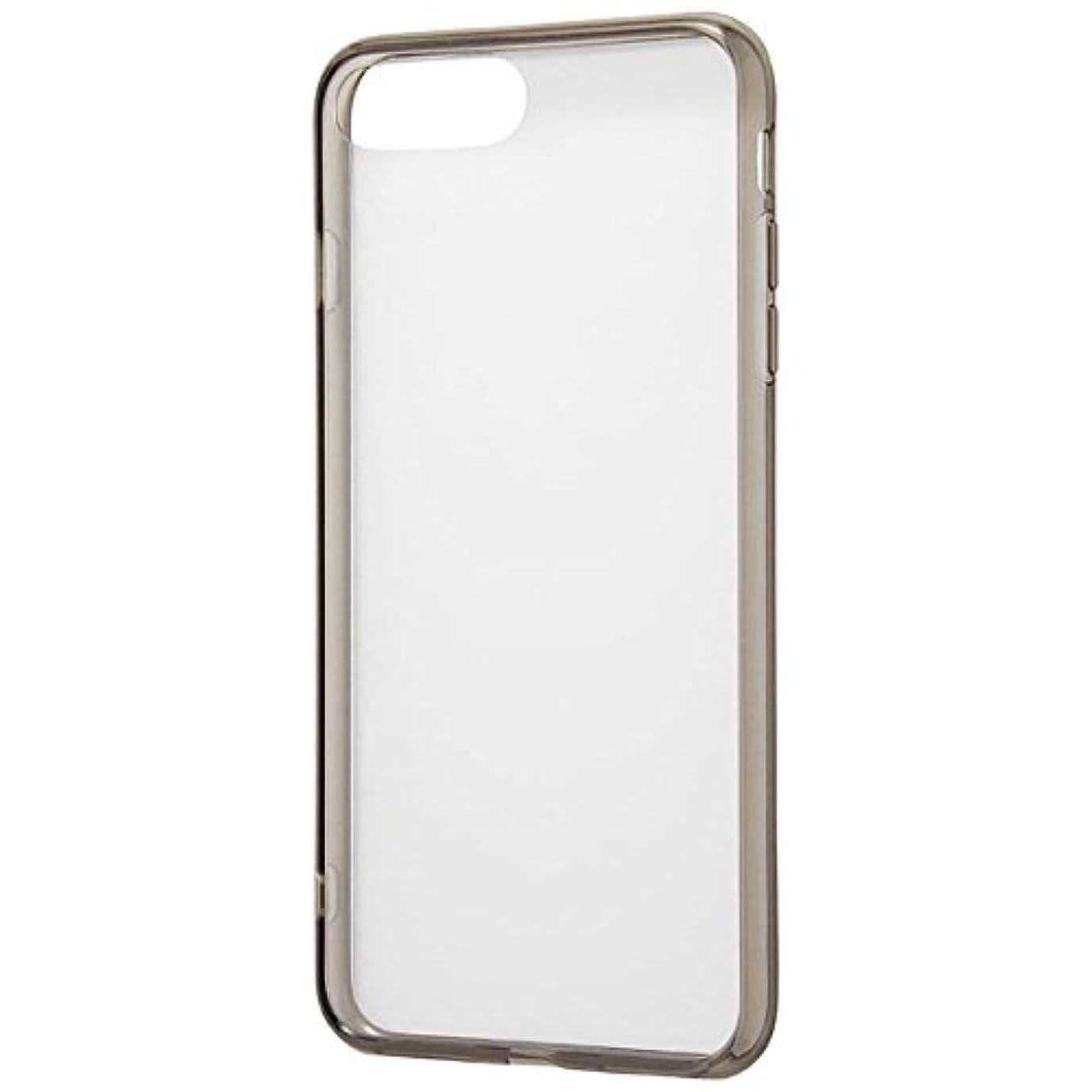 リッチ登山家インスタントレイ?アウト iPhone 8 Plus用 ハイブリッドケース/ブラック RT-P15CC2/BM
