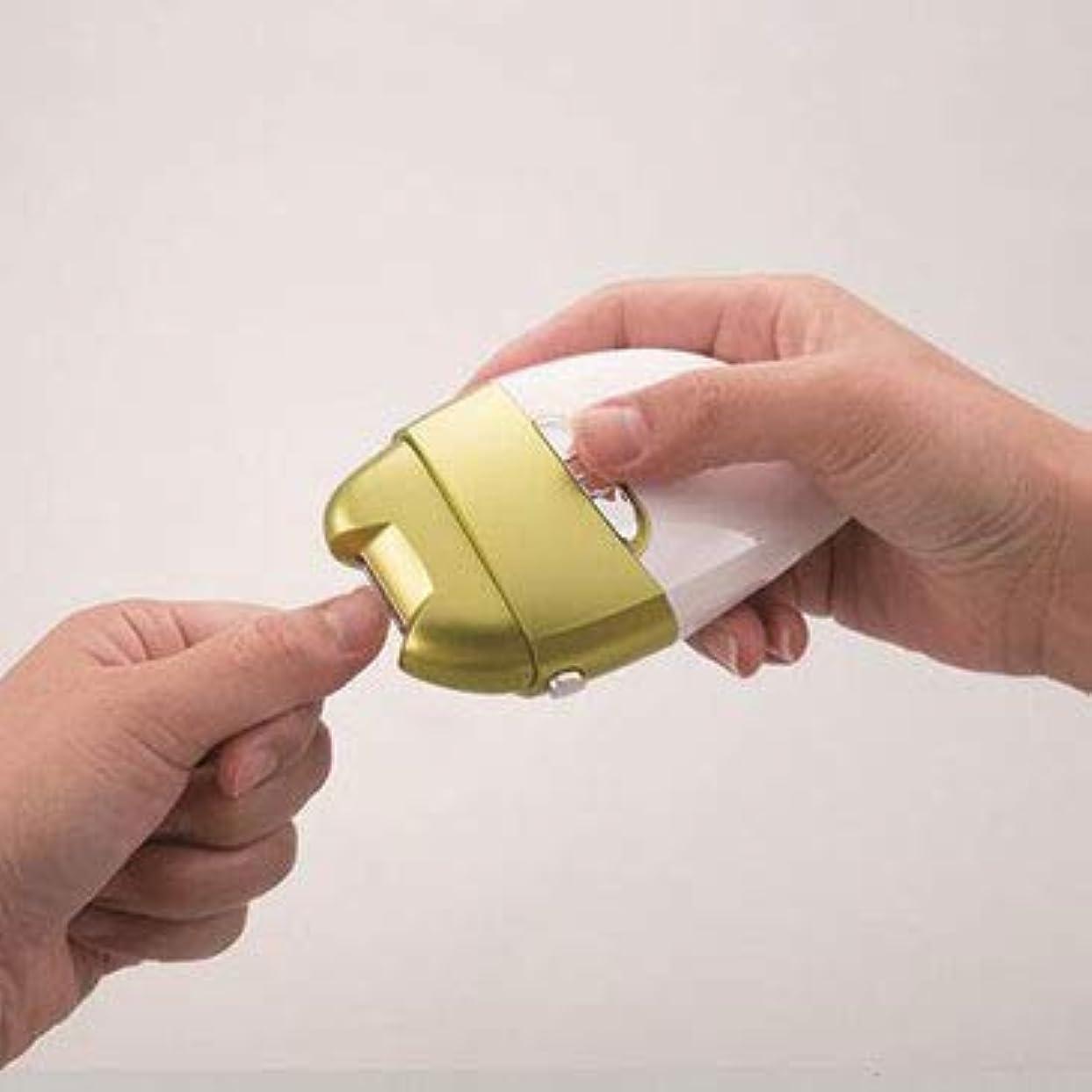 危険にさらされているドライバ評価する電動爪削りLeaf DX