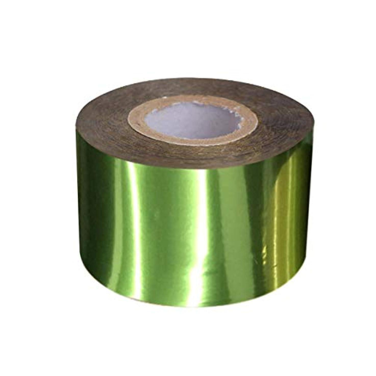 ドキドキ再生リサイクルするSUKTI&XIAO ネイルステッカー 120M * 4Cmホログラフィックマット星空ピュアカラーネイルアート転写箔ホログラフィックシルバーゴールドネイルデザイン転写ステッカー、グリーン