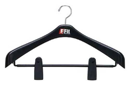 シンコハンガー ジャケットビッグクリップ47 「F-Fit」 ブラック