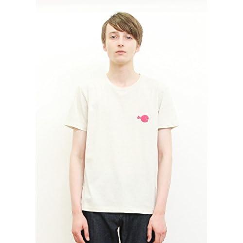 ( グラニフ ) graniph コラボレーション半袖Tシャツ / きんぎょがにげたドット ( 五味太郎 ) ( ヘザーナチュラル ) SS