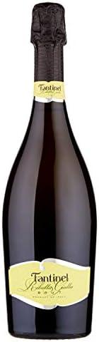 [Amazon限定ブランド]【落ち着いた果実味と心地よい酸味】ファンティネル リボラジャッラ ブリュット 750ml[イタリア/スパークリングワイン/辛口/Curator's Cho