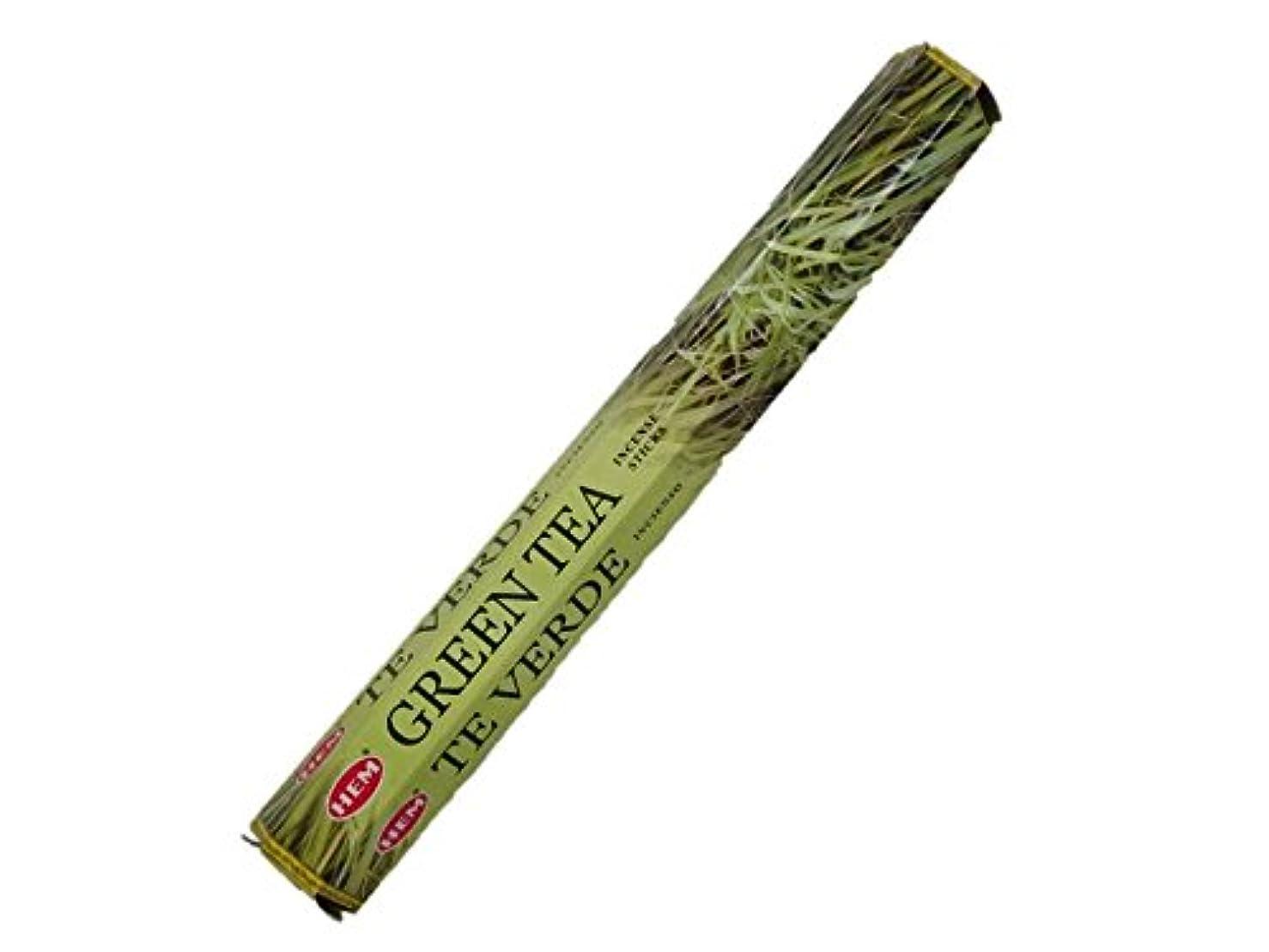 送るスクレーパーコジオスコHEM(ヘム)お香:グリーンティー スティックお香/インセンス/1箱