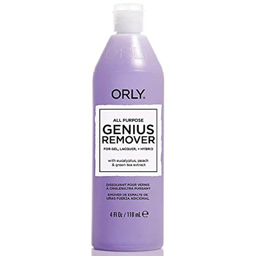 クルーズパブ遷移ORLY - All Purpose Genuis Remover- Gel Remover - 4oz / 118ml