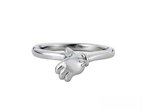 white clover / Disney Series / ディズニー / ミッキーマウス / シルバー ハンド リング 指輪 DI009M
