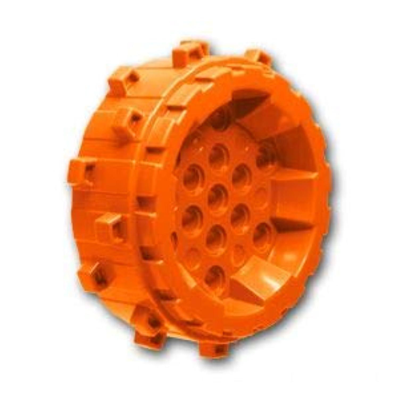 レゴブロック ばら売りパーツ ホイール - スモールクリート:[Orange / オレンジ] [並行輸入品]
