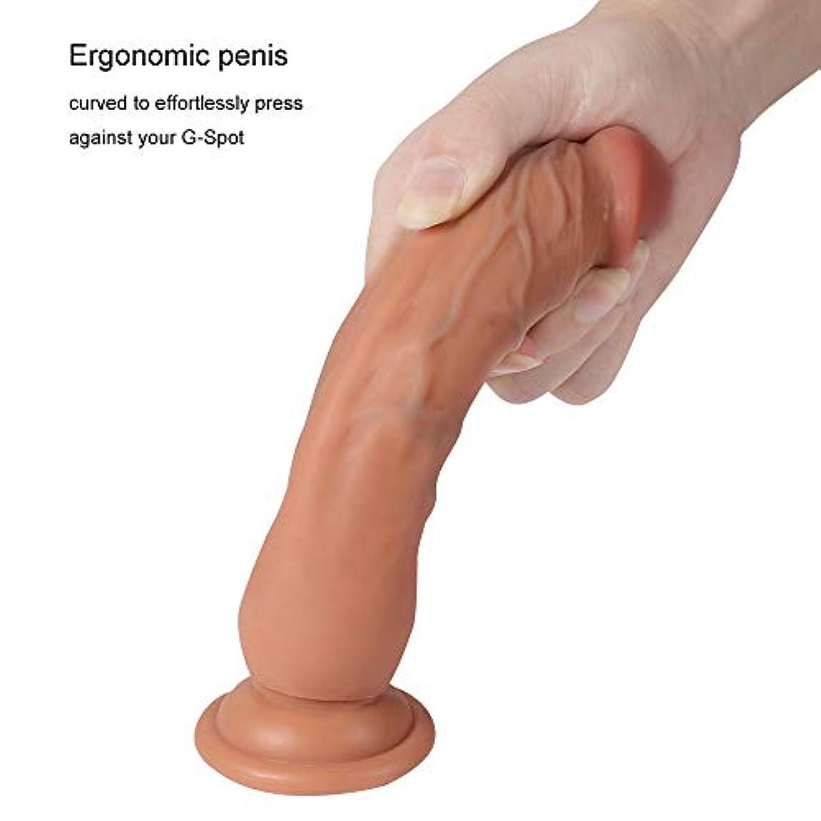 愛情コンテンツリラックスした長いサイズ - 7.28インチの女性の男性の初心者のための優れた杖