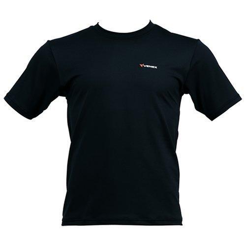 VENEX(ベネクス) リカバリーウェア スタンダードT (男女兼用) ブラック Sサイズ