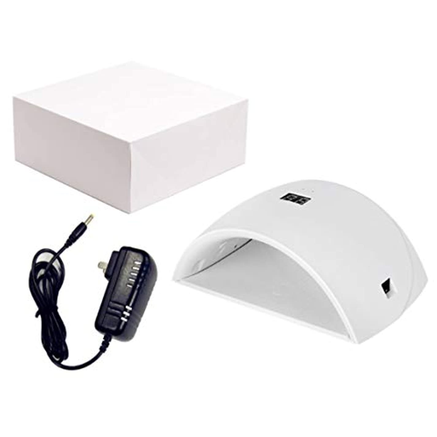 UVネイルライト、ジェルベース研磨マニキュア/ペディキュア99s無痛モード用ポータブル36Wネイルドライヤー