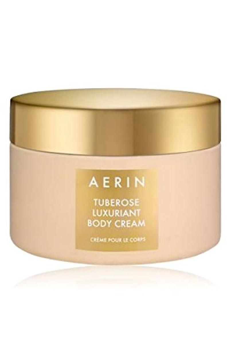 突き刺す安全でない争いAERIN Tuberose Luxuriant Body Cream (アエリン チュベローズ ラグジュアリアント ボディー クリーム) 6.5 oz 195ml) by Estee Lauder for Women