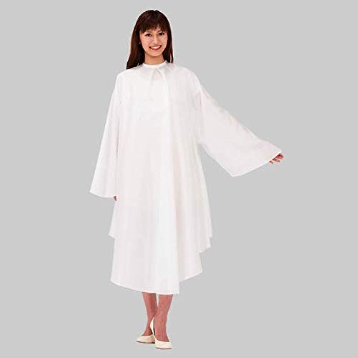 健康ユダヤ人知恵カトレア 2210 ホワイト ソフティ袖付刈布