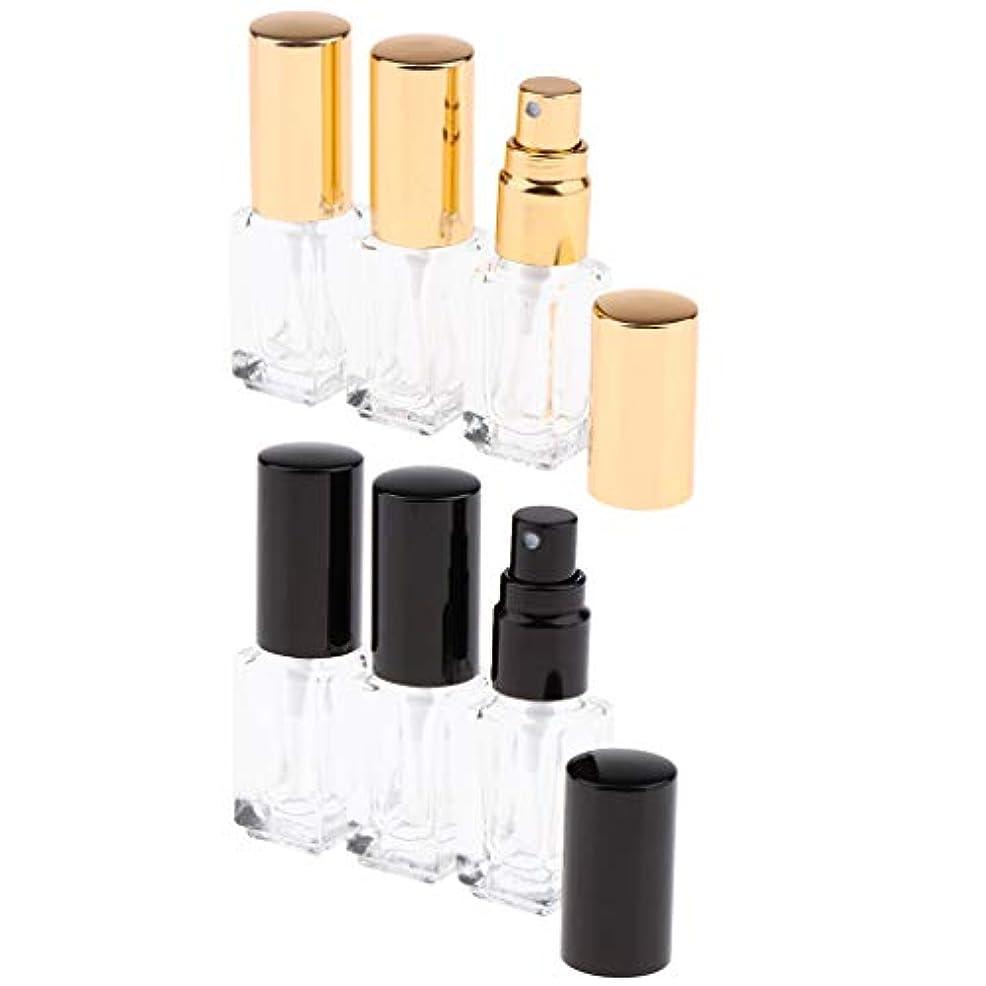 父方の固体二層香水ボトル ガラス 香水アトマイザー 香水瓶 ポンプ式 香水 フレグランス アフターシェーブ