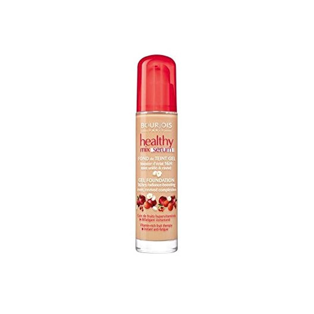 実現可能銃ひねりブルジョワヘルシーミックス血清基盤ベージュ 55 x4 - Bourjois Healthy Mix Serum Foundation Beige Fonce 55 (Pack of 4) [並行輸入品]