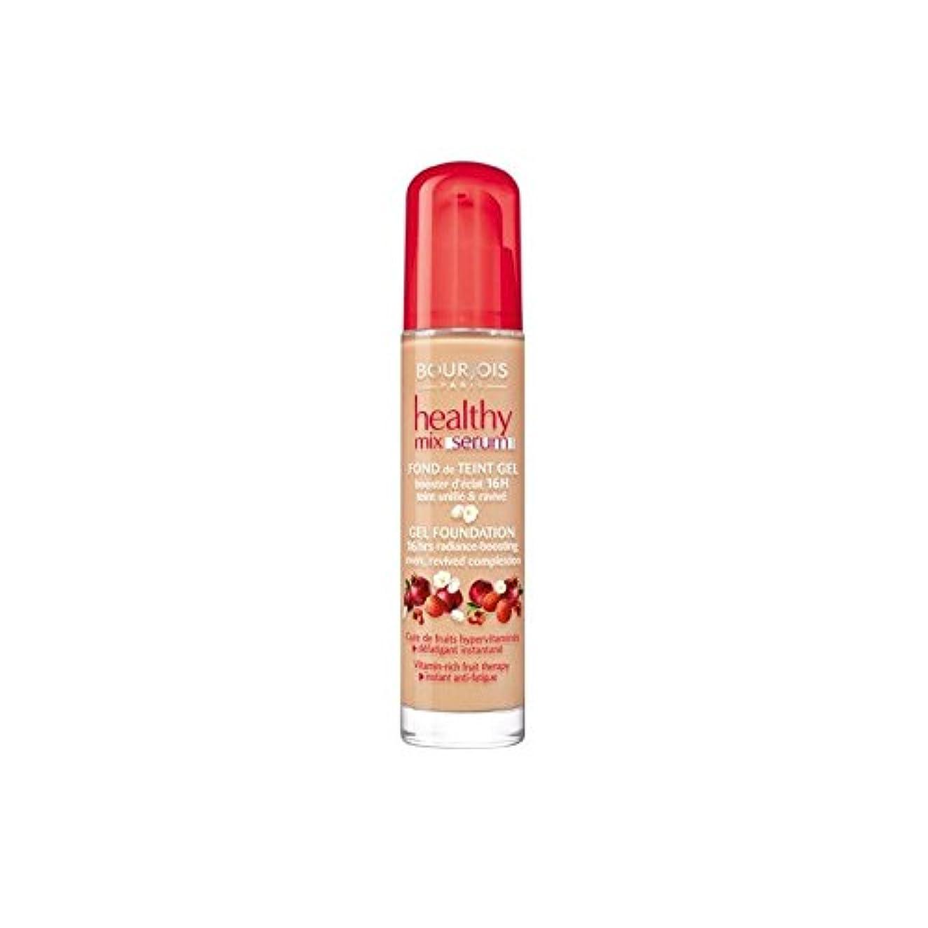 ブルジョワヘルシーミックス血清基盤ベージュ 55 x4 - Bourjois Healthy Mix Serum Foundation Beige Fonce 55 (Pack of 4) [並行輸入品]