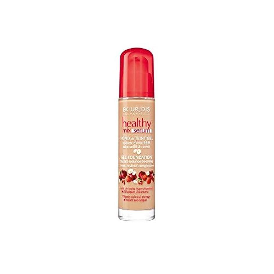 通知食用使役Bourjois Healthy Mix Serum Foundation Beige Fonce 55 (Pack of 6) - ブルジョワヘルシーミックス血清基盤ベージュ 55 x6 [並行輸入品]