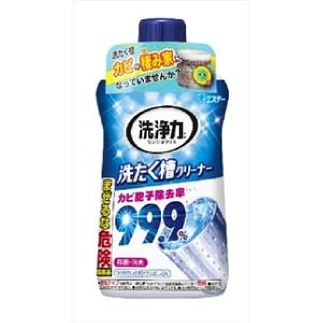 伝染性の本体精査(まとめ)エステー 洗浄力 洗たく槽クリーナー 【×5点セット】