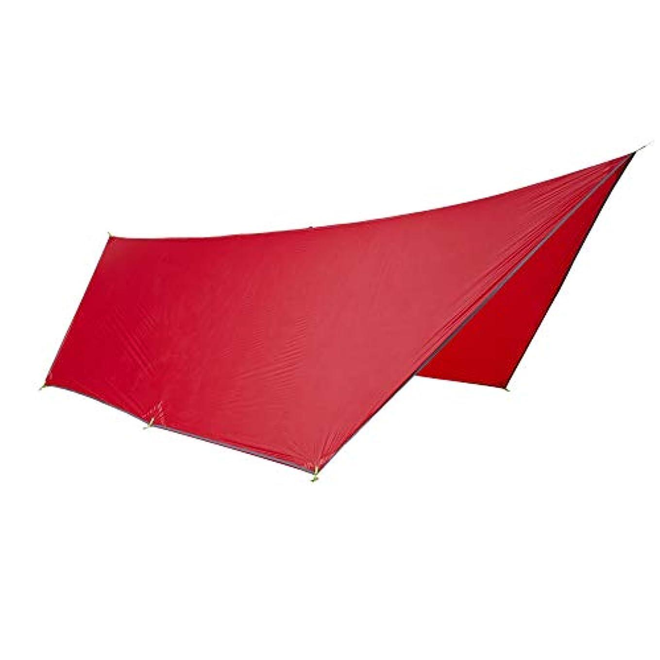 信念三角アクロバットOneTigris BlackOrca タープ 天幕シェード 超軽量 日よけ UVカット 五角形 ポータル シェルター アウトドア キャンプ用品