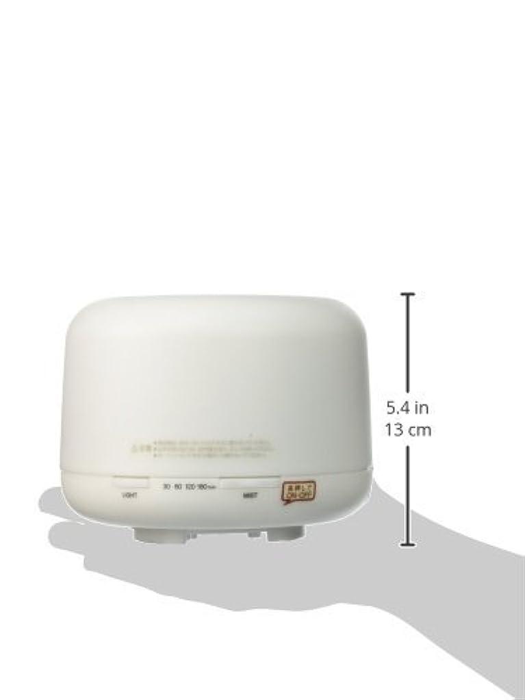 ディスク手配する意図【無印良品】 超音波うるおいアロマディフューザー HAD-001-JPW