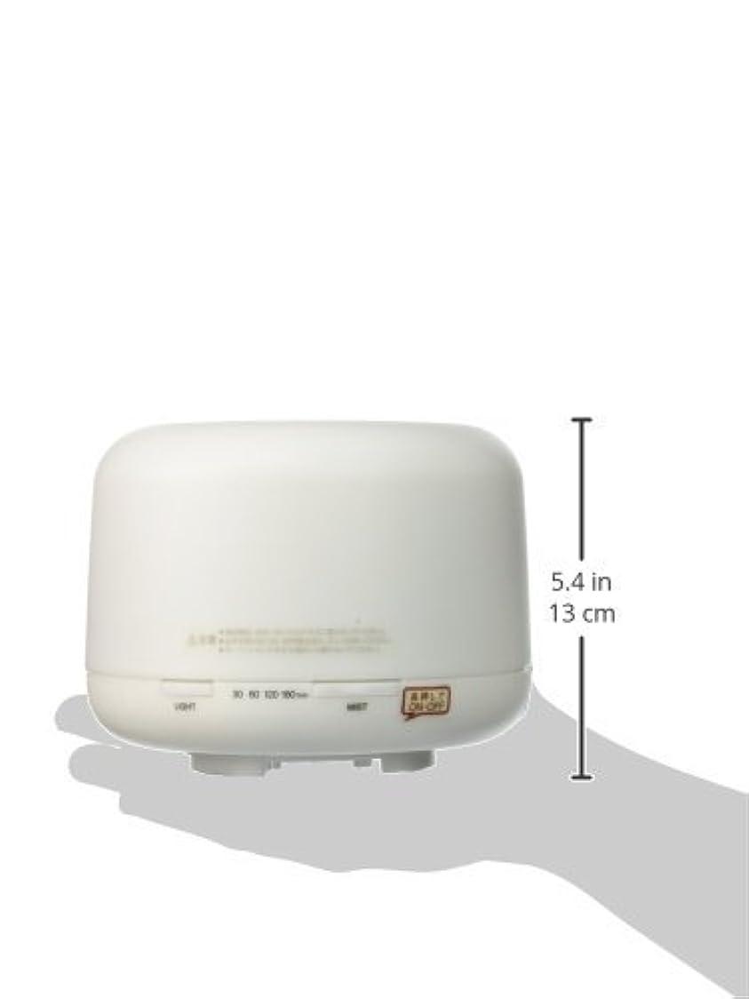 バリケード自治揺れる【無印良品】 超音波うるおいアロマディフューザー HAD-001-JPW