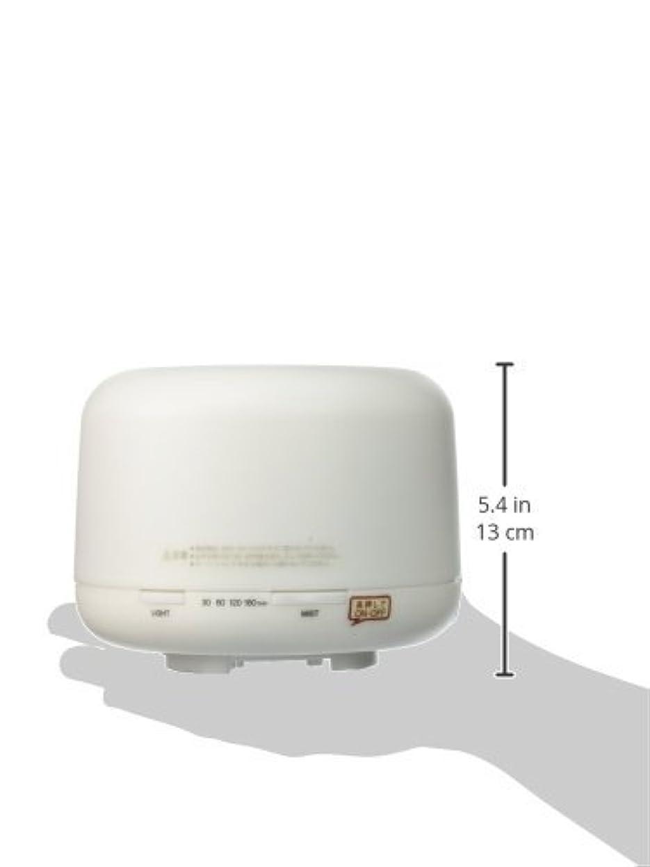 回転させるスクラップ免疫する【無印良品】 超音波うるおいアロマディフューザー HAD-001-JPW