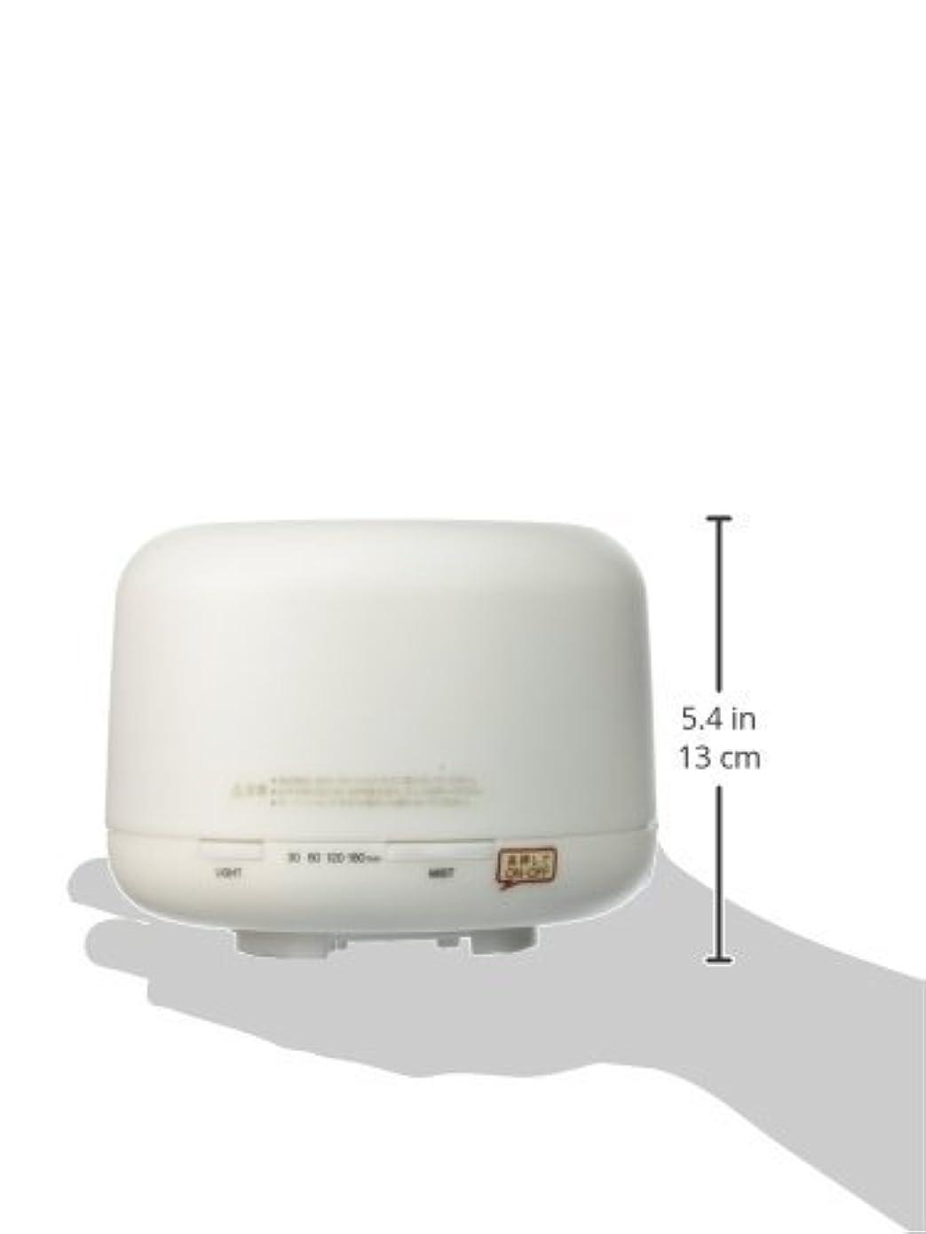 盆レイアウト乳白【無印良品】 超音波うるおいアロマディフューザー HAD-001-JPW