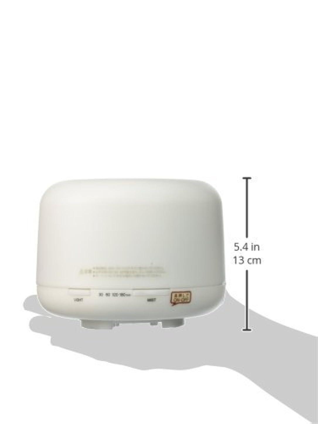 無数の取り壊す裁定【無印良品】 超音波うるおいアロマディフューザー HAD-001-JPW