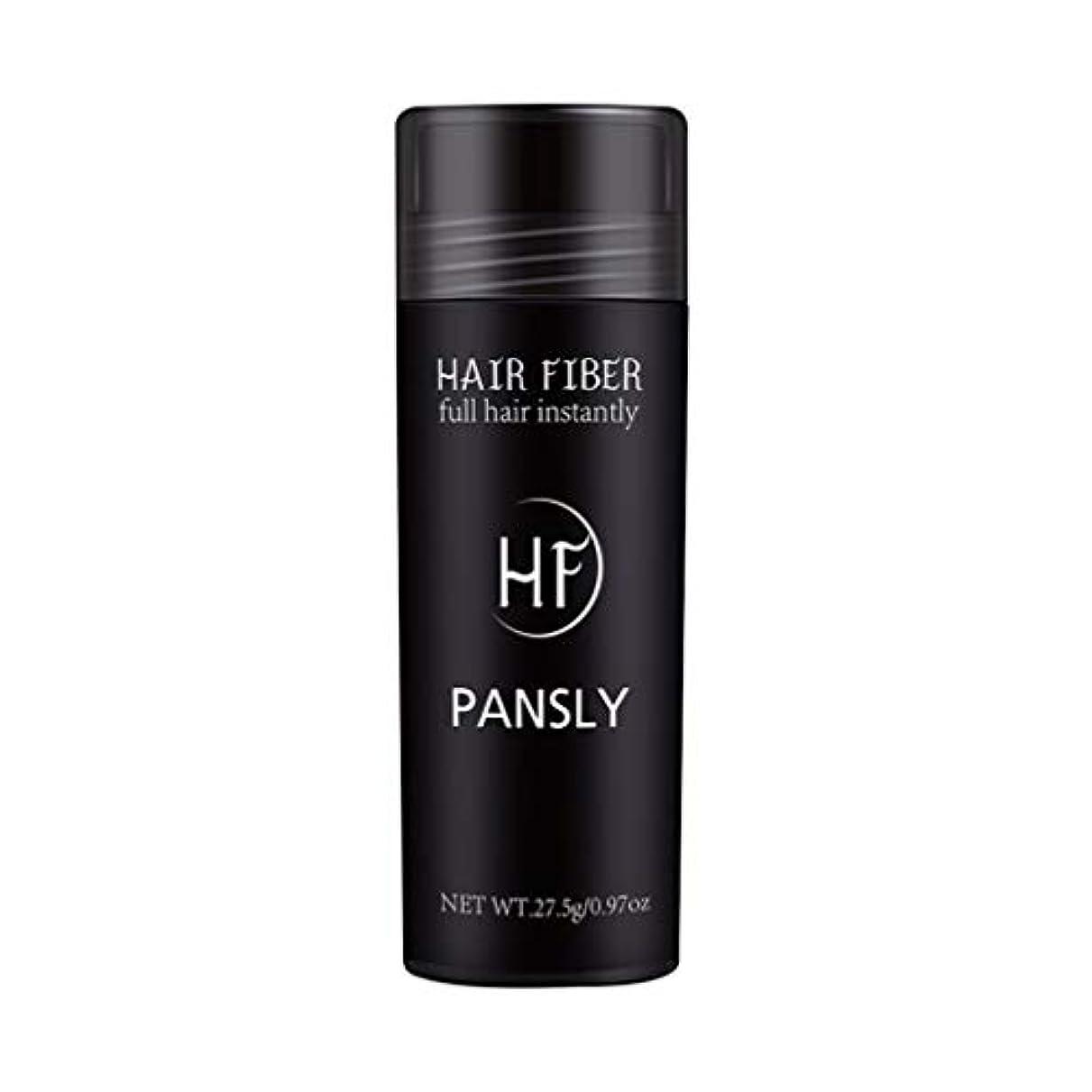 誓うカレンダー欠かせないSUPVOX 髪を薄くするためのヘアファイバースプレーポータブルヘアビルディングエクステンションパウダー(黒)