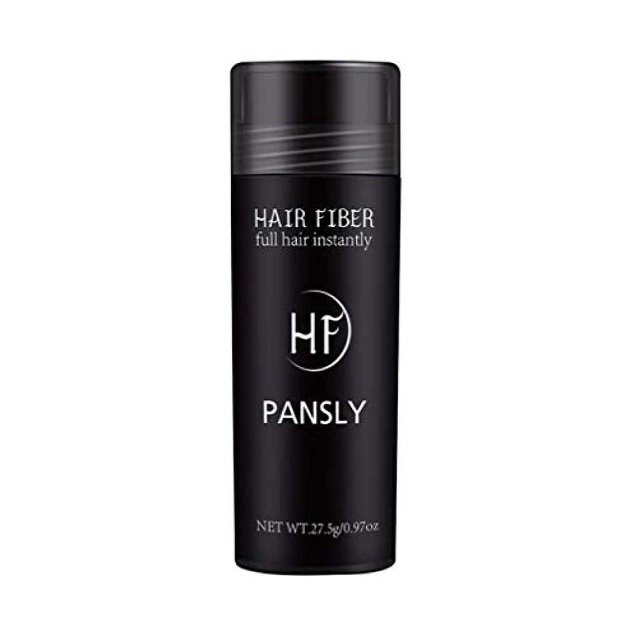 財布適性ヒットSUPVOX 髪を薄くするためのヘアファイバースプレーポータブルヘアビルディングエクステンションパウダー(黒)
