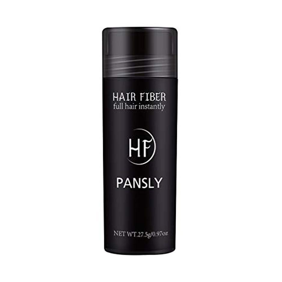 グループ以前はライオンSUPVOX 髪を薄くするためのヘアファイバースプレーポータブルヘアビルディングエクステンションパウダー(黒)