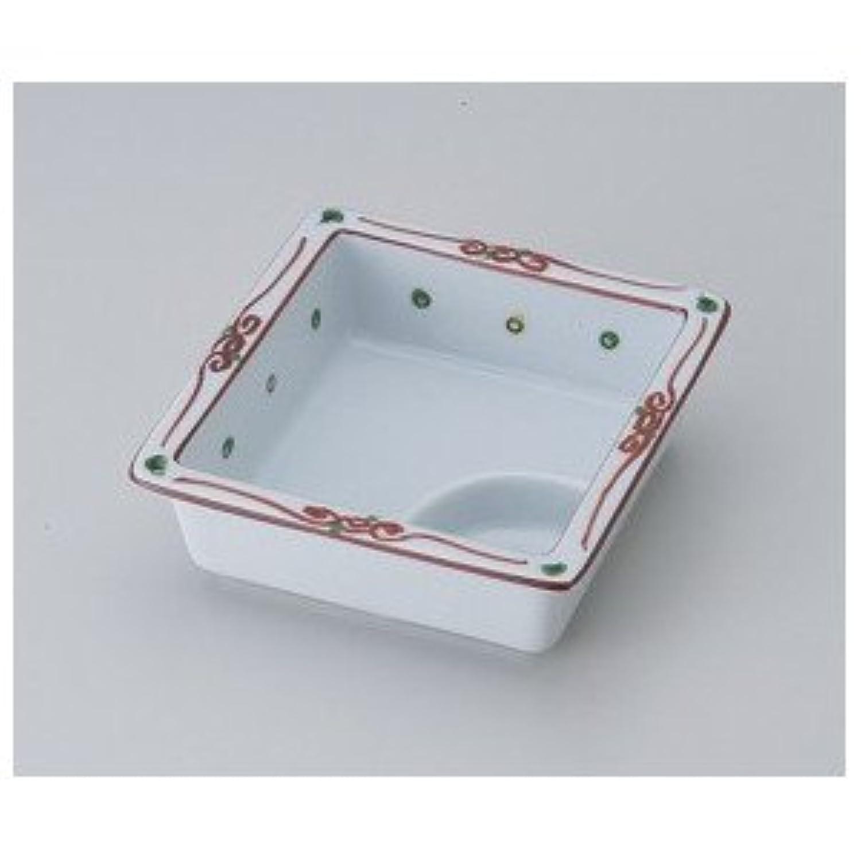 【美濃焼 松花堂】 点水玉仕切鉢  / お楽しみグッズ(キッチン用品) 付きセット