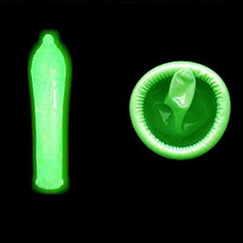 むちゃくちゃ比較的省Zerosky Fluorescence Condoms Special Condoms Noctilucent 3 Glow In The Dark Condoms + 4 Ultra-thin Condoms Sex...