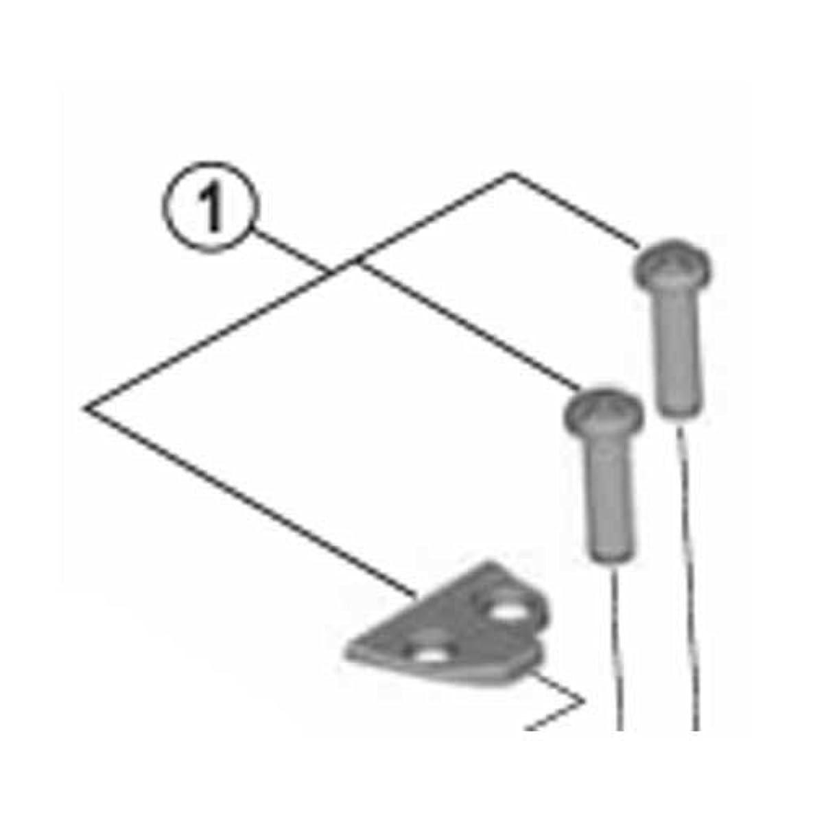 磁気遺産できないシマノ アジャストボルト(M4×15)&プレート(バンド式用) Y5P198010