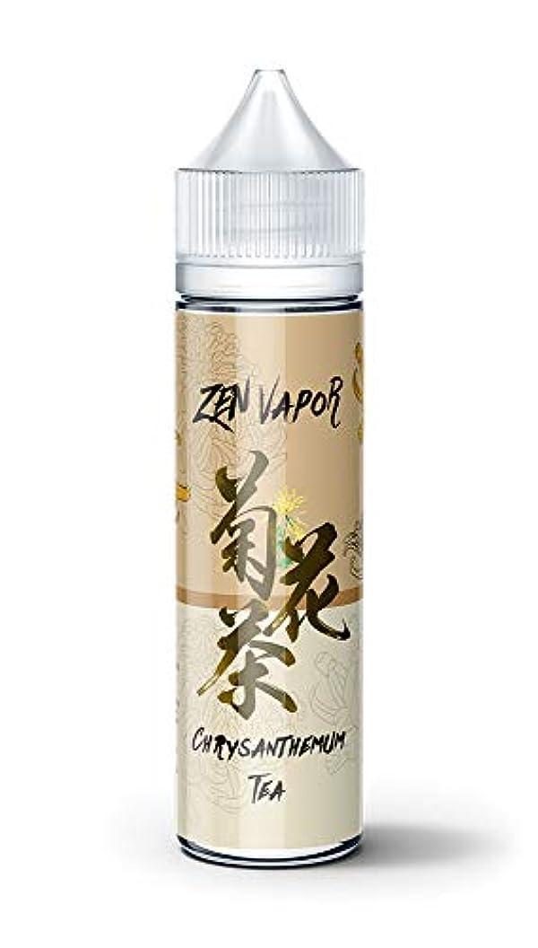 深遠内部アブセイ電子タバコ リキッド お茶ブランドリキッドシリーズ Zen Vape Premium E-Liquid 60ml / 70% VG 30% PG (ゼン?ベイプ)Vaporever ヴェポレバー (菊花茶)
